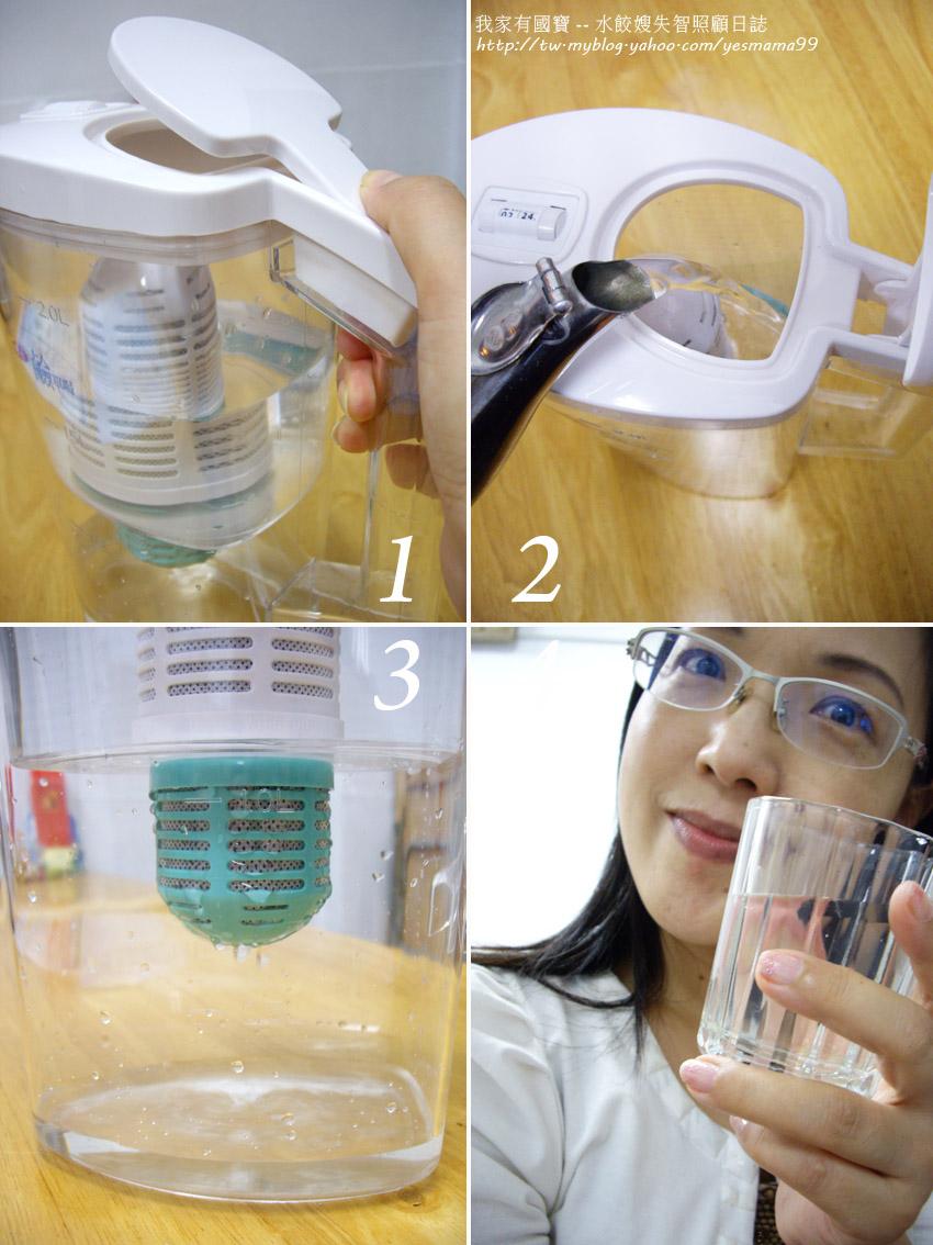 鉅豪‧簡單喝濾水壺-商品使用近拍照