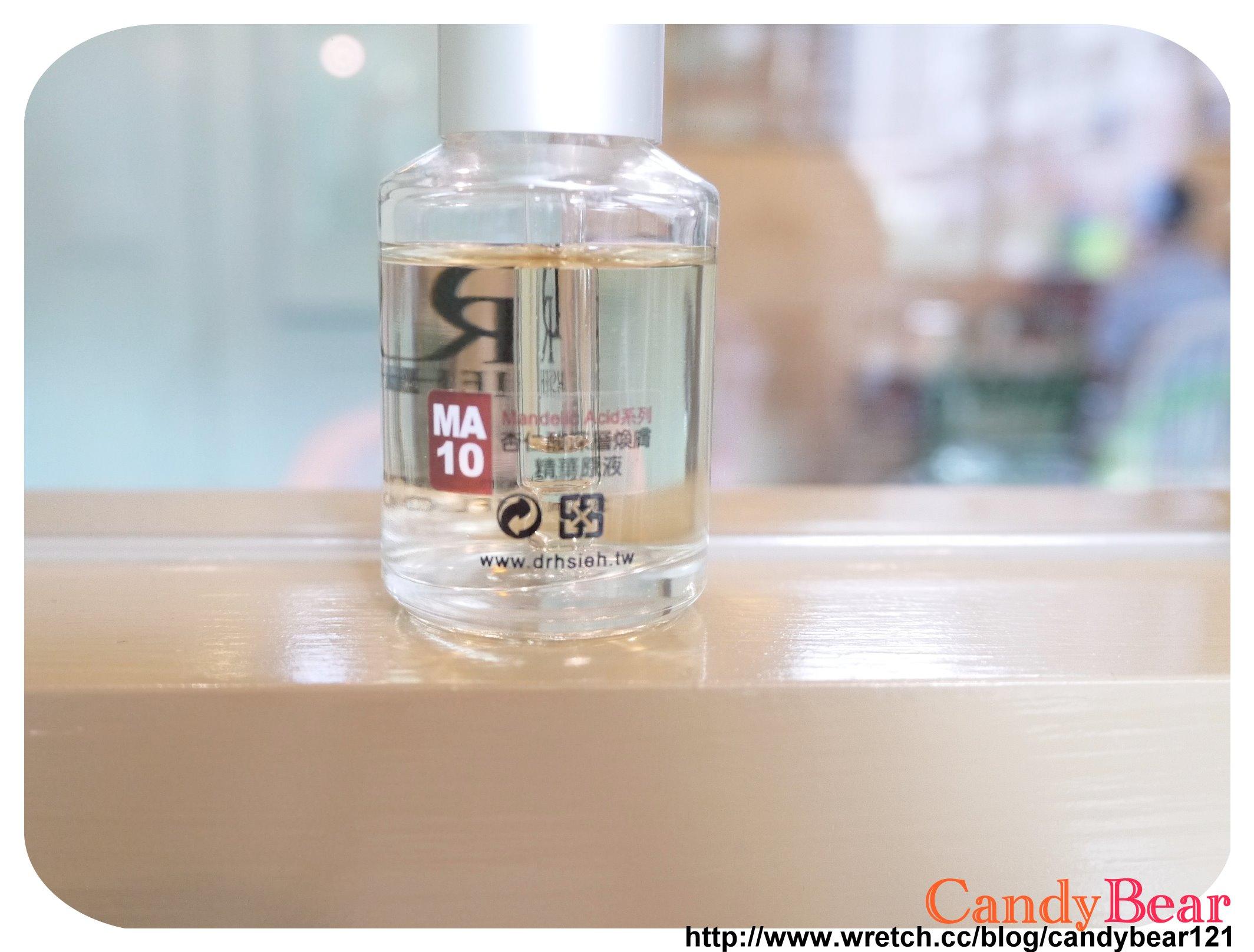 Dr.Hsieh-杏仁酸深層煥膚精華原液10%_瓶裝和質地外觀