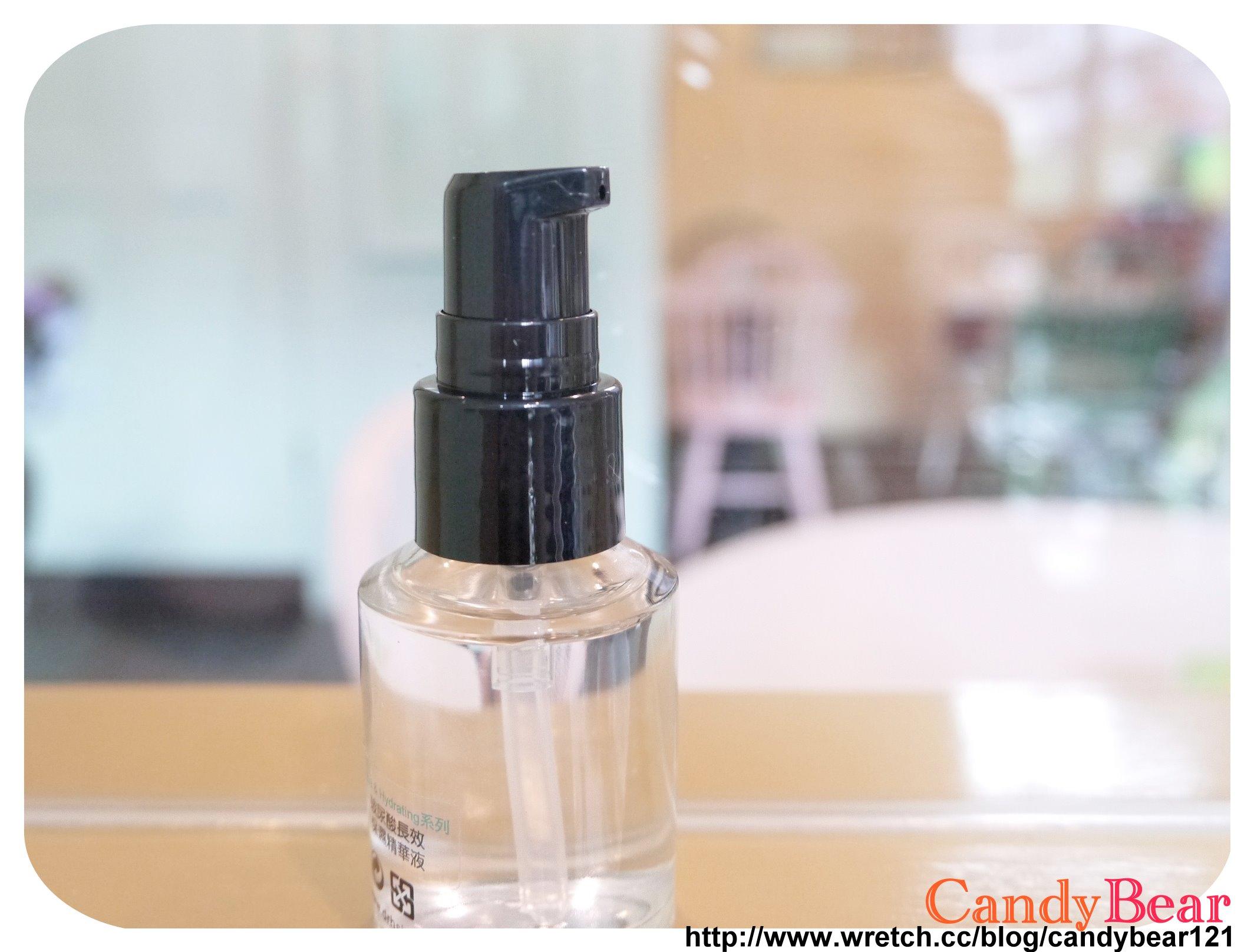 Dr.Hsieh-玻尿酸長效保濕精華液_瓶裝外觀有按壓設計