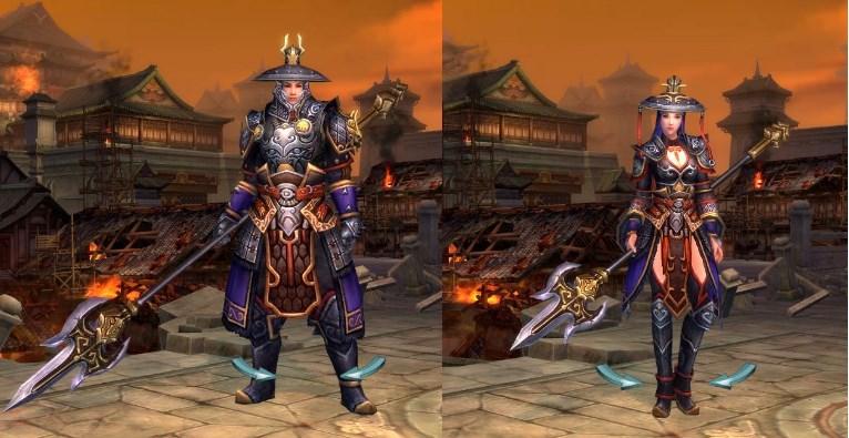 線上遊戲MMORPG-爭龍傳oline-角色扮演職業士卒