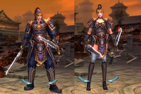 線上遊戲MMORPG-爭龍傳oline-角色扮演職業俠客
