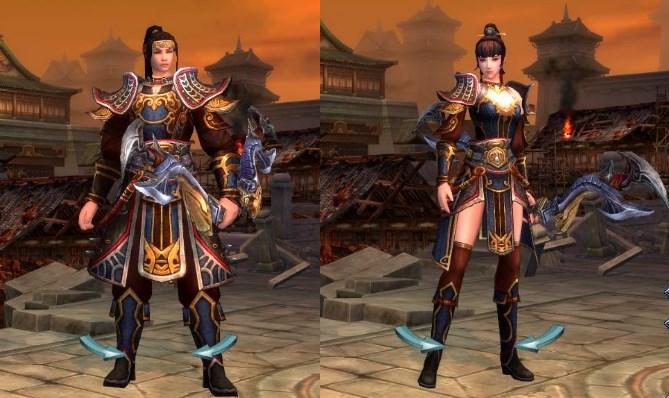 線上遊戲MMORPG-爭龍傳oline-角色扮演職業弓手