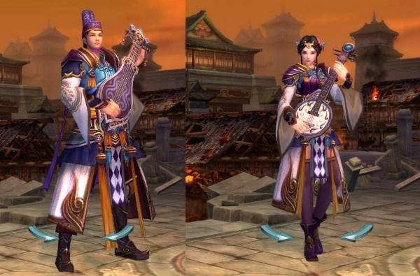 線上遊戲MMORPG-爭龍傳oline-角色扮演職業樂師