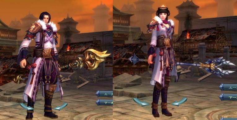 線上遊戲MMORPG-爭龍傳oline-角色扮演職業儒士