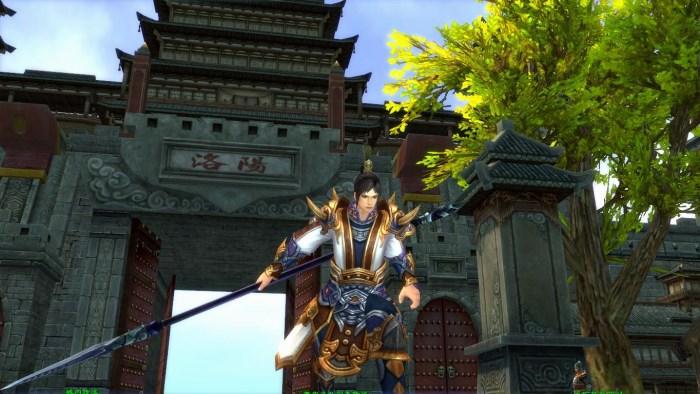 爭龍傳oline遊戲畫面景色優美精細且考究中國歷史