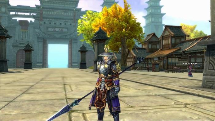 爭龍傳oline遊戲-角色裝備道具可即時變換顯示