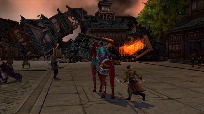 線上遊戲-爭龍傳解任務畫面