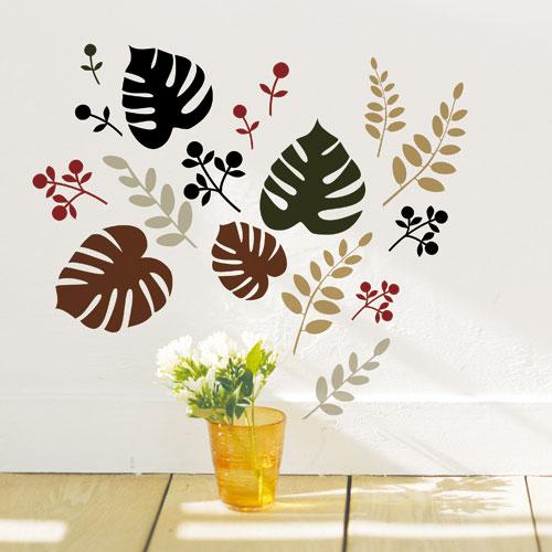 創意無痕壁貼 葉子