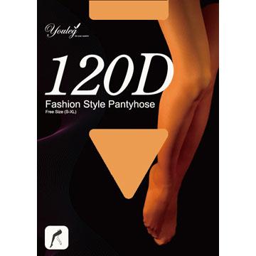 120 Den 時尚褲襪 - 膚色(六雙入)