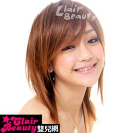【188A】整頂式-高層次斜瀏海日系直髮