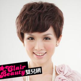 【MR11】名女人極短俐落型斜劉海短髮  預購