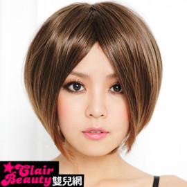 【A018】上戶彩中分俏麗短直髮