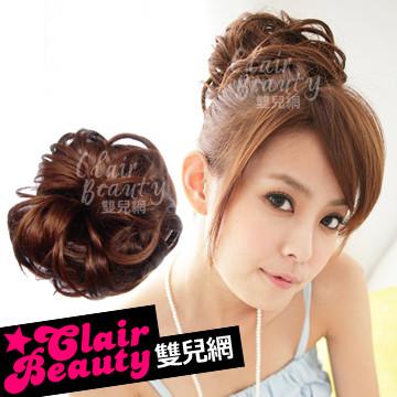 【DH54】髮量超多捲髮QQ丸子頭髮束