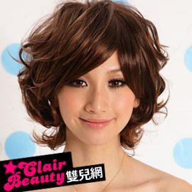 【A097】日系街頭型人蓬鬆短卷髮