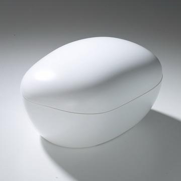 極地冰盒-卵石系列-白