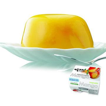 頂級吃果籽芒果布丁(一條3入裝,共6條18入)