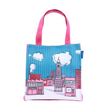 【Coplay設計包】快樂城市|小方包
