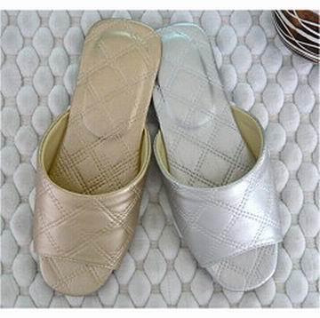 (e鞋院)★菱格紋★舒適室內拖鞋