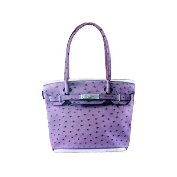 【Coplay設計包】鴕鳥皮紫|托特包