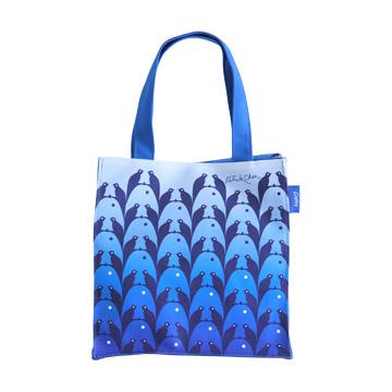 【Coplay設計包】錯視魚鳥藍|小方包