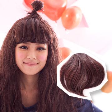 【MP013】耐熱纖維-俏麗有型微捲瀏海髮片