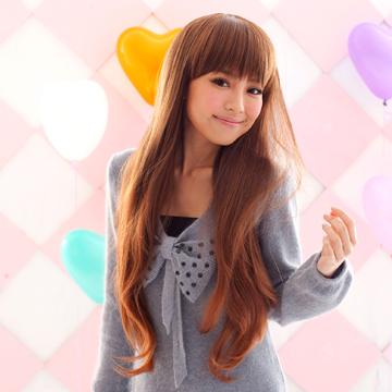 【MA006】耐熱纖維-日雜大推爆紅款日系微灣長髮