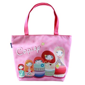 【Coplay設計包】俄羅斯娃娃 粉|托特包