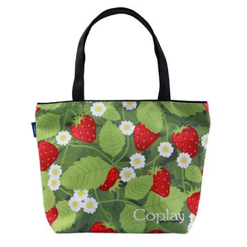 【Coplay設計包】甜蜜草莓園|托特包