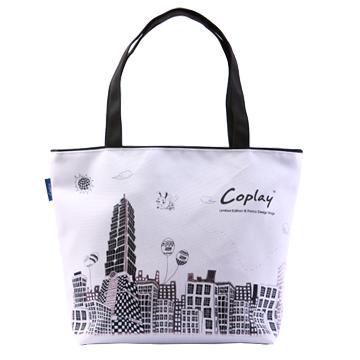 【Coplay設計包】未來城白|托特包