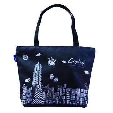 【Coplay設計包】未來城黑|托特包