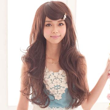 【MA036】氣質女星甜姐兒侯佩岑微捲髮型