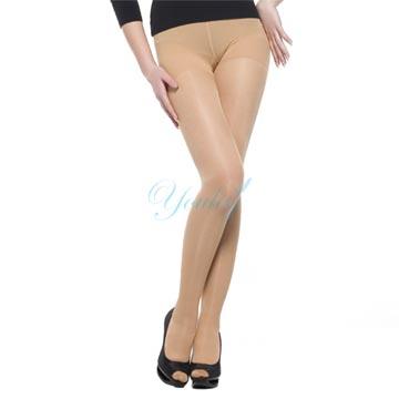 200 Den 柔軟超薄彈性褲襪 - 膚色(二雙入)