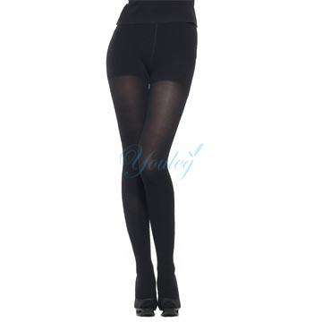 360 Den 彈性褲襪 - 黑色(二雙入)