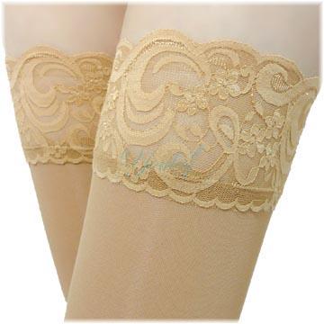 140 Den 彈性大腿襪 - 膚色(二雙入)