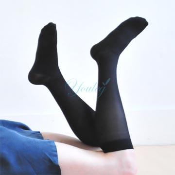 200 Den 彈性小腿襪 - 黑色(四雙入)