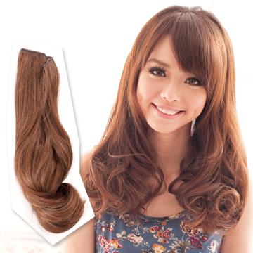 【MF011】一片式梨花頭立體浪漫捲髮片