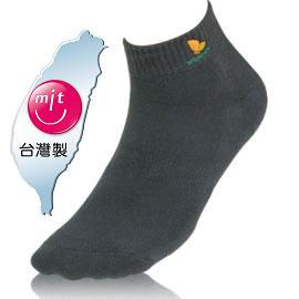 NUMEN 除臭機能襪~超短筒運動襪(毛巾底)深灰