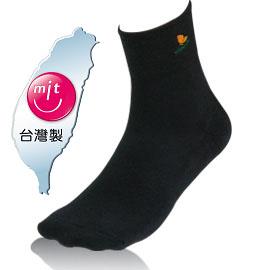 NUMEN 除臭機能襪~1/2短筒運動襪(毛巾底)黑