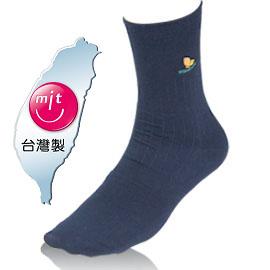 NUMEN 除臭機能襪~寬口無痕紳士襪(薄款)藏青