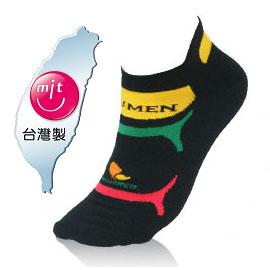 NUMEN 機能單車襪~Coolmax快速排汗機能(薄款)黑
