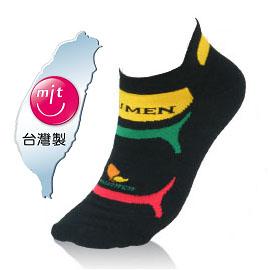 NUMEN 機能單車襪~Coolmax快速排汗機能(厚款)黑