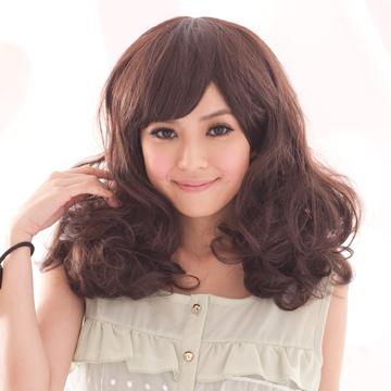 【MX040】復刻寶貝蓬鬆大捲短假髮