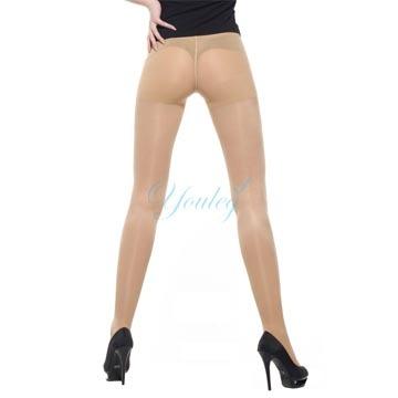 420 Den 奈米銀薄型彈性褲襪 - 膚色(二雙入)