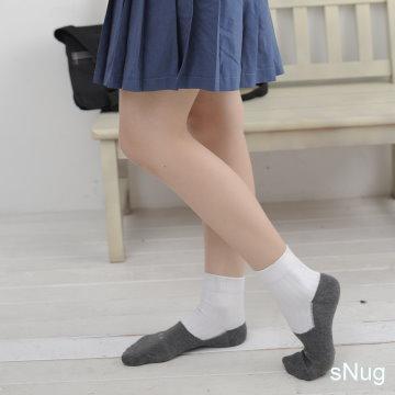 sNug 腳臭剋星學生襪 6雙優惠組