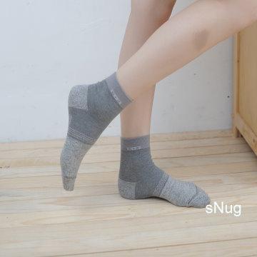 sNug 腳臭剋星頂級銀纖維襪 6雙優惠組
