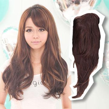 【MW014】半罩式-自然系層次感中長髮
