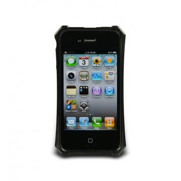 iPhone4/4S-X-Trim- PPS保護框-碳黑色