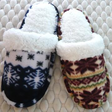 (e鞋院) [雪棉棉]毛茸舒適室內拖鞋
