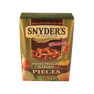 《史耐德Snyder's》蝴蝶碎餅(蜂蜜芥末,250g精美盒裝)