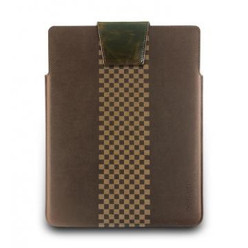 New iPad-復古瘋馬皮套-摩卡棕
